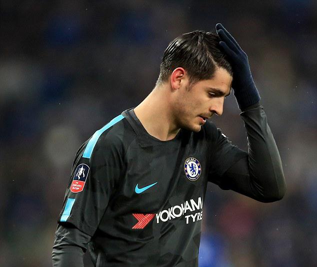 Stiker Chelsea asal Spanyol, Alavaro Morata