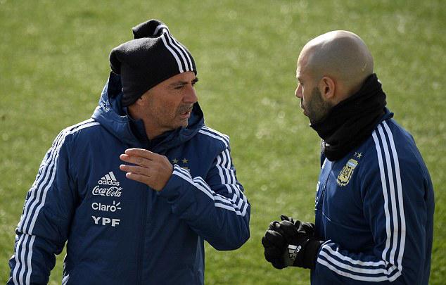 Jorge Sampaoli, Javier Mascherano