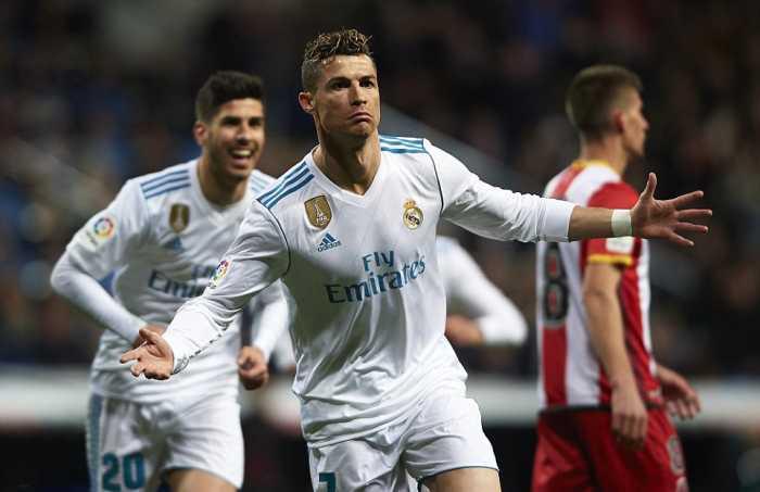 Gilas Girona, Ronaldo cetak hattrick ke 50