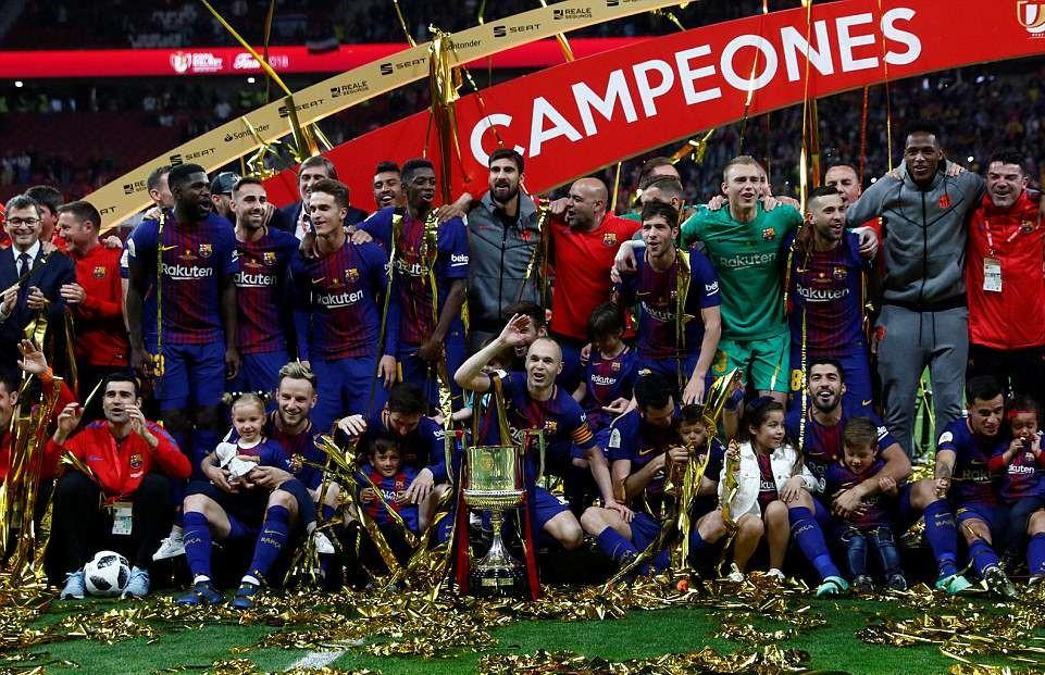 Barcelona diambang juara La Liga