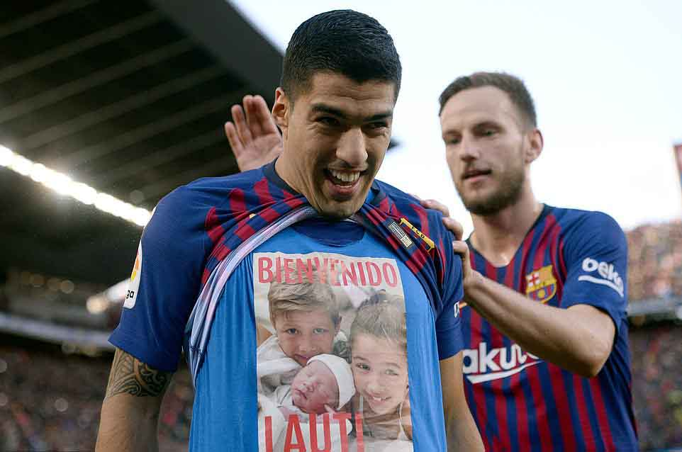 El Clasico Man of the match Luis Suarez