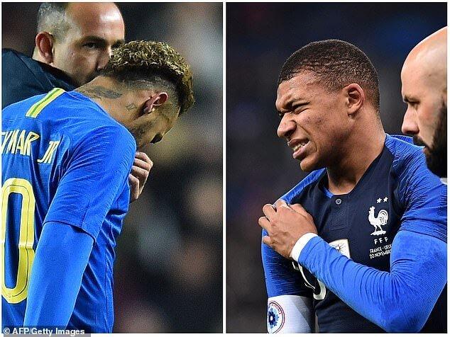 Fit lebih awal, PSG duetkan Neymar Mbappe lawan Liverpool