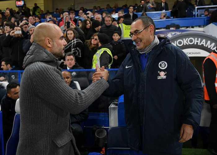 Guardiola dan Sarri