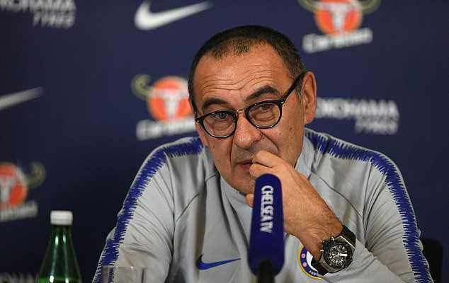 Tiru taktik Conte, Sarri sukses taklukan City