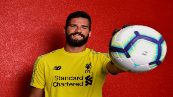 Alisson join Liverpool