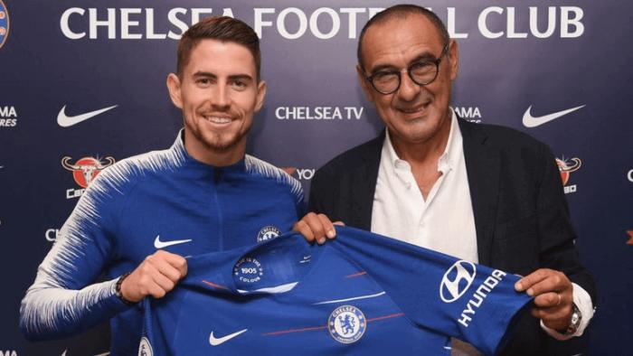 Jorginho join Chelsea