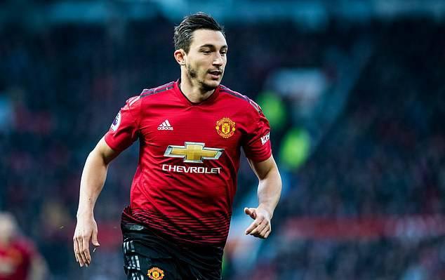Pemain belakang Manchester United, Matteo Darmian