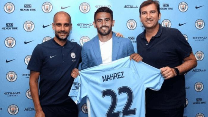Riyad Mahrez join Manchester City