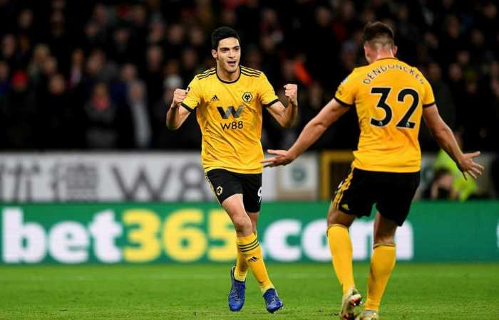 striker Wolverhampton Wanderers, Raul Jimenez