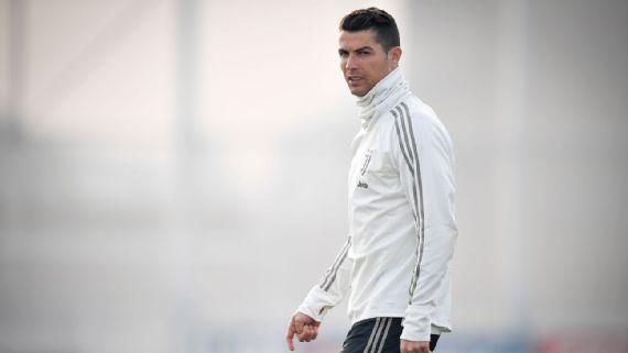 Cristiano Ronaldo berseragam Juventus