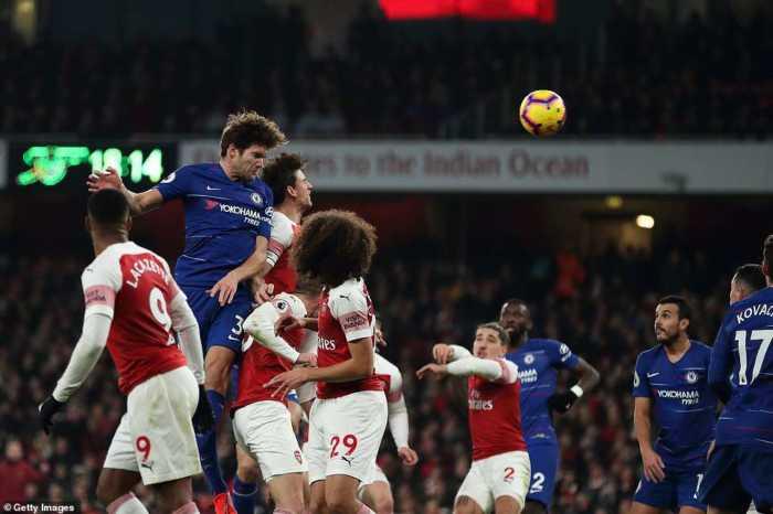 Arsenal vs Chelsea Liga Primer pekan 23