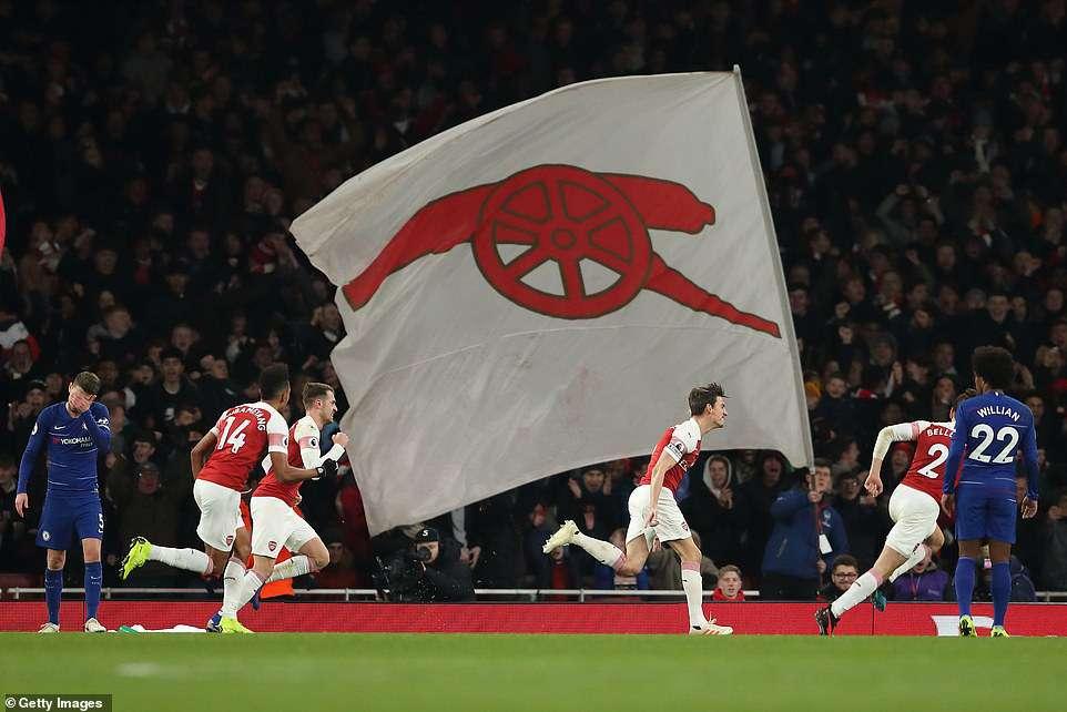 Arsenal taklukkan Chelsea 2-0