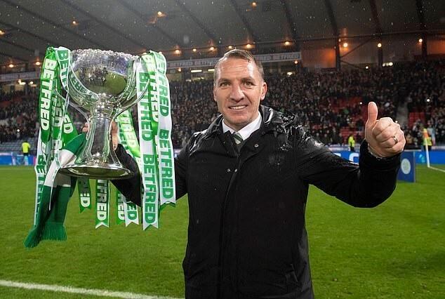 Brendan Rodgers menangkan 7 gelar bersama Celtic