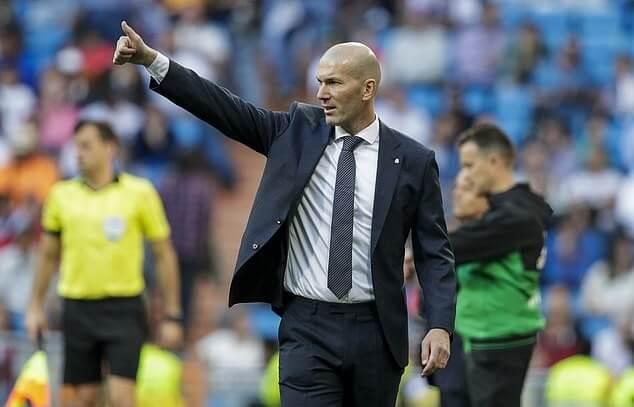 Manajer Real Madrid, Zinedine Zidane