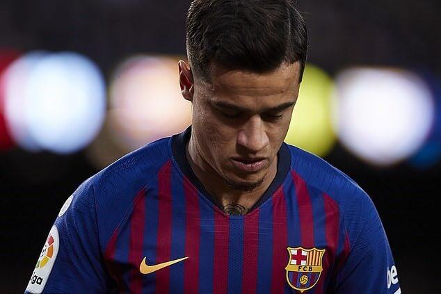 Gelandang Barcelona, Philippe Coutinho
