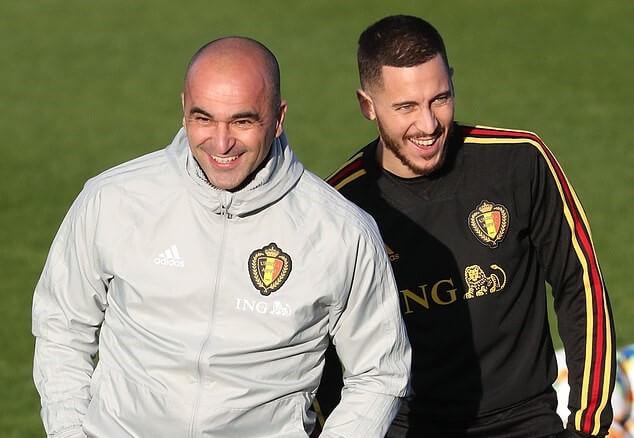 Hazard fokus dengan Chelsea