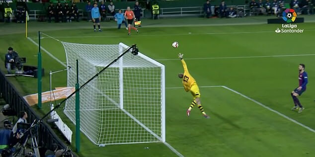 Gol sensasional Messi vs Betis