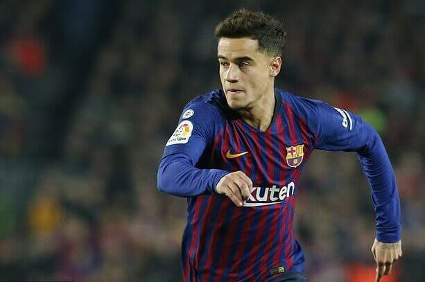 Winger Barca, Philippe Coutinho