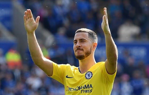 Fans Chelsea ingin Hazard tetap di Chelsea