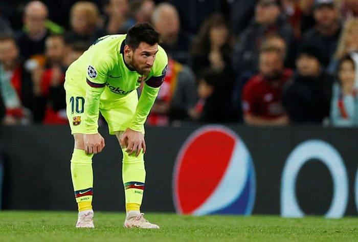 Tidak ada sihir Messi di Anfield