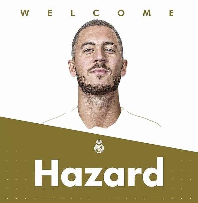 Selamat datang diklub terbaik didunia Hazard